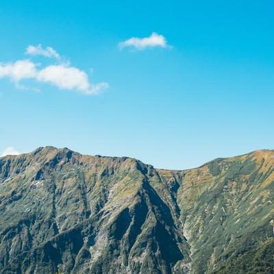 「日本百名山「谷川岳」」の写真素材