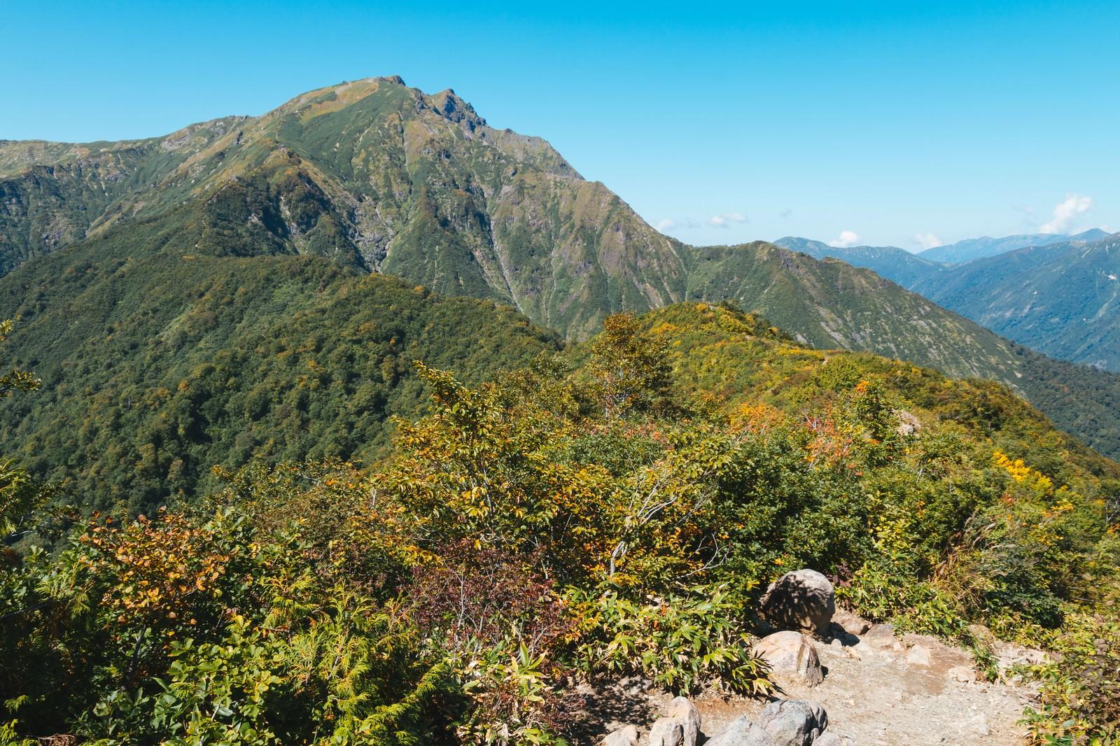 「谷川岳景観」の写真