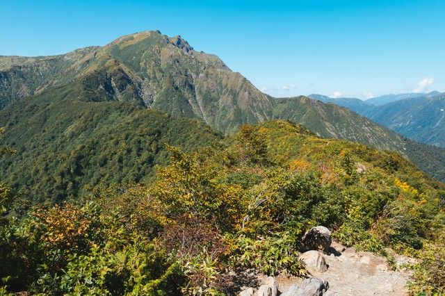 谷川岳景観の写真