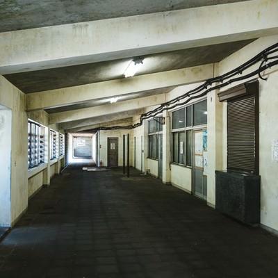 「土合駅内の通路」の写真素材