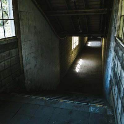 「地下へと進む通路(土合駅)」の写真素材