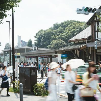 「原宿駅前(表参道口)」の写真素材