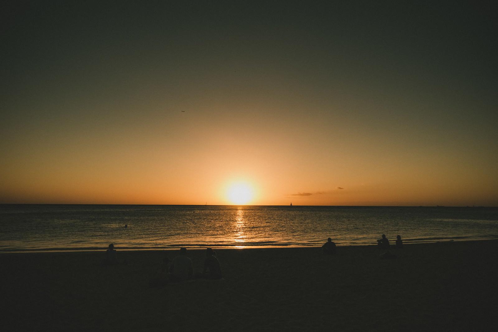 「ハワイの極上サンセット」の写真
