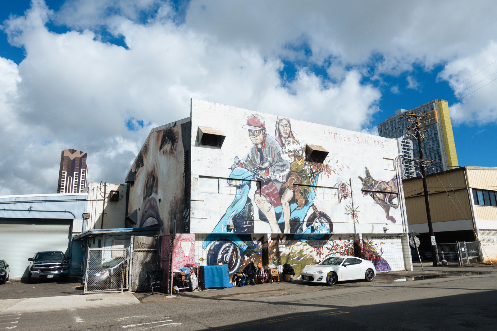 「ハワイの新観光名所・カカアコのウォールアート」の写真