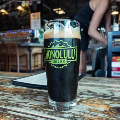 ホノルルのクラフトビールの写真