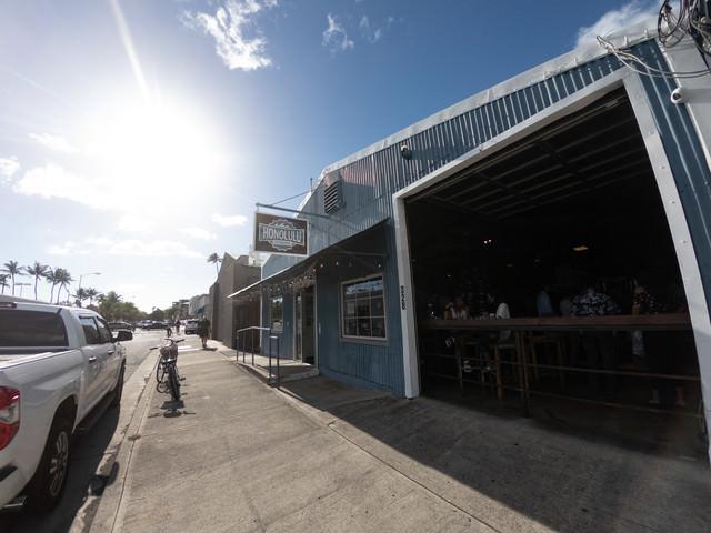 ハワイのクラフトビールショップの写真