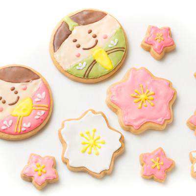 ひなまつりのクッキーの写真