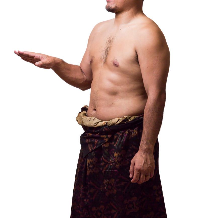 「メタボ民族」の写真
