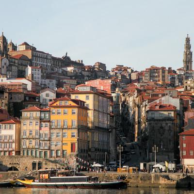 「ポルトガル・ポルトの街並み(世界遺産)」の写真素材