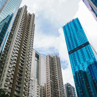 高層ビル群(香港)の写真