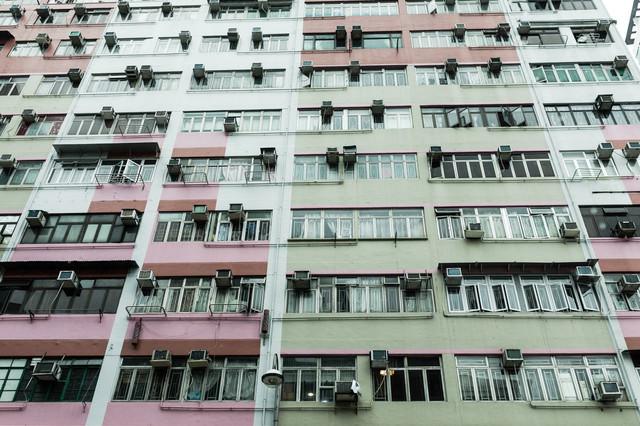 香港の住宅の写真