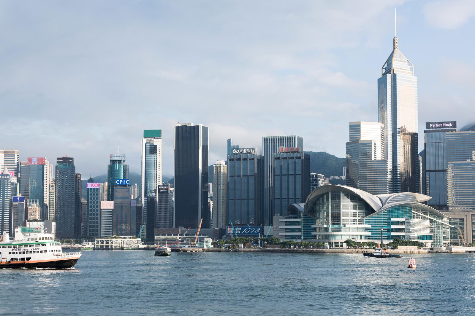 「香港コンベンション&エキシビションセンター(ビクトリア・ハーバー)」の写真