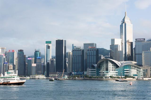香港コンベンション&エキシビションセンター(ビクトリア・ハーバー)の写真