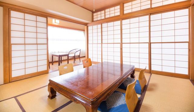 和室の客室の写真