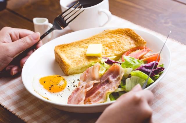 朝食いただきます!の写真