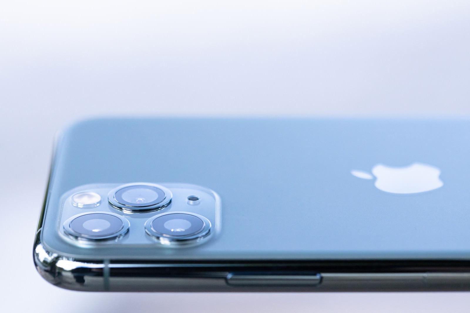 「トリプルカメラがついた iPhone 11 Pro」の写真