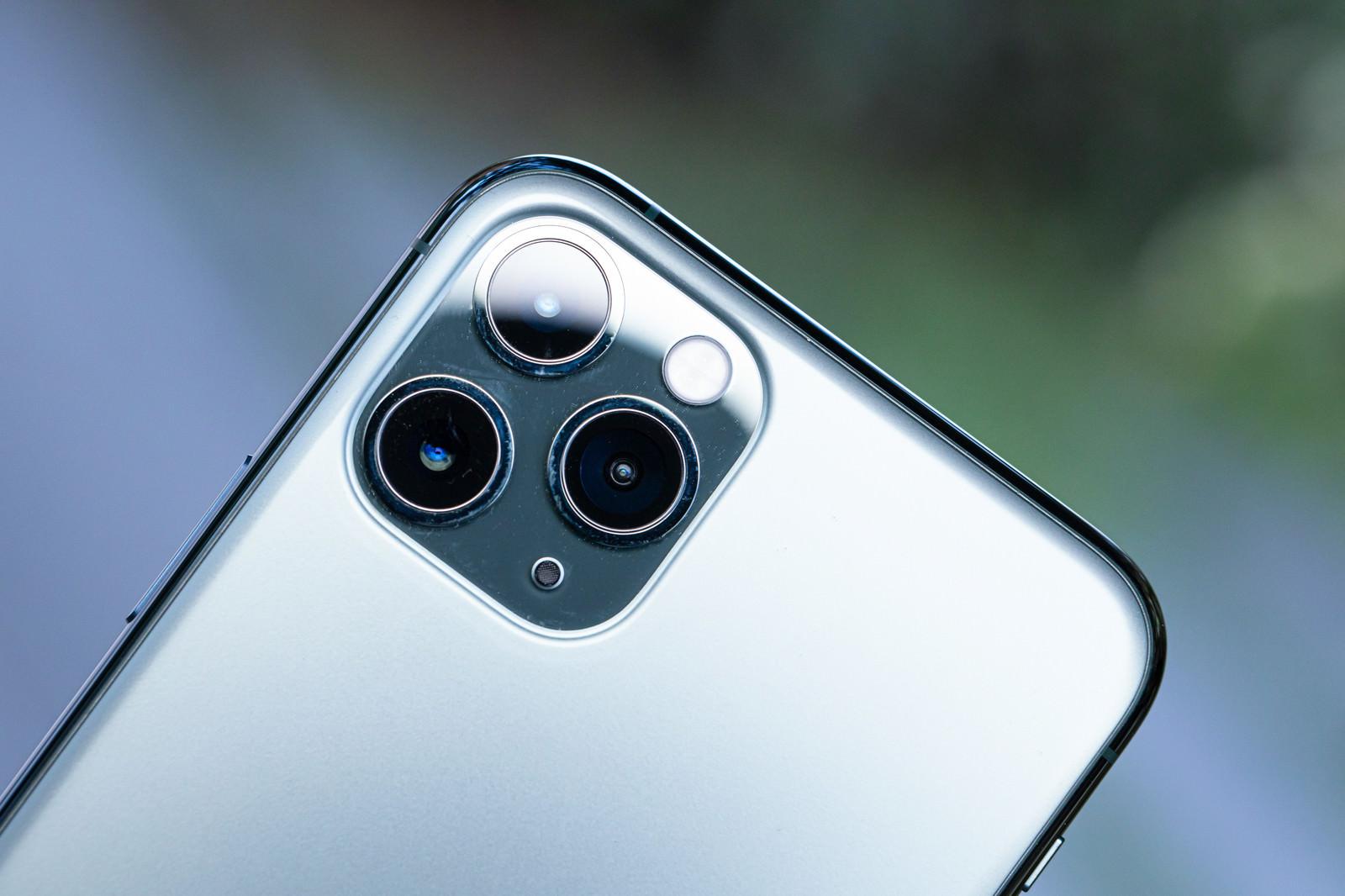 「トリプルカメラ(iPhone 11 Pro)」の写真