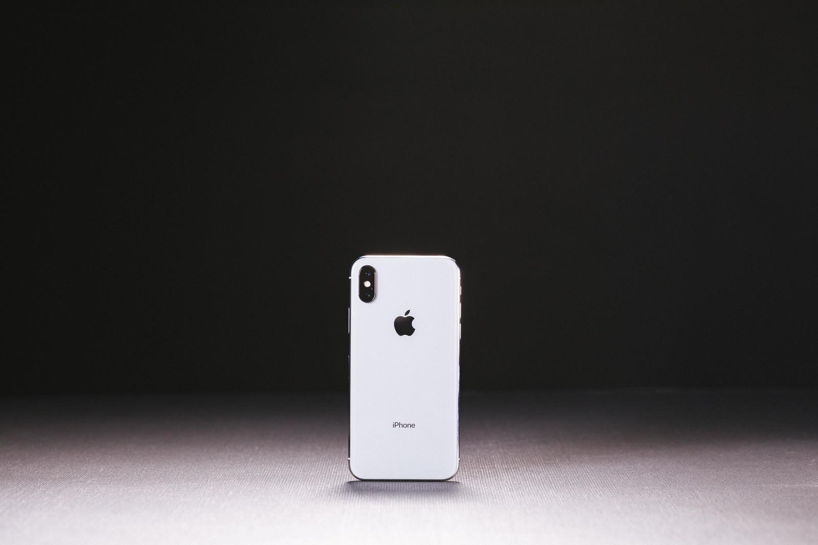 「iPhone X(テン)」の写真