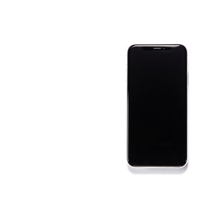 「iPhone X 電源オフ」の写真素材
