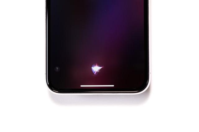 秘書機能アプリ「Siri(シリ)」の写真