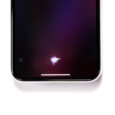 「秘書機能アプリ「Siri(シリ)」」の写真素材