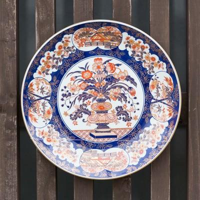 「伊万里焼のお皿」の写真素材