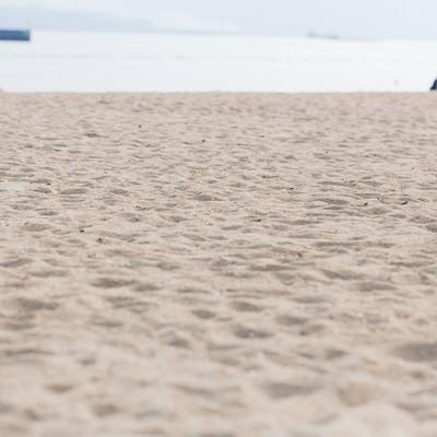 「人口海浜公園(イマリンビーチ)」の写真素材