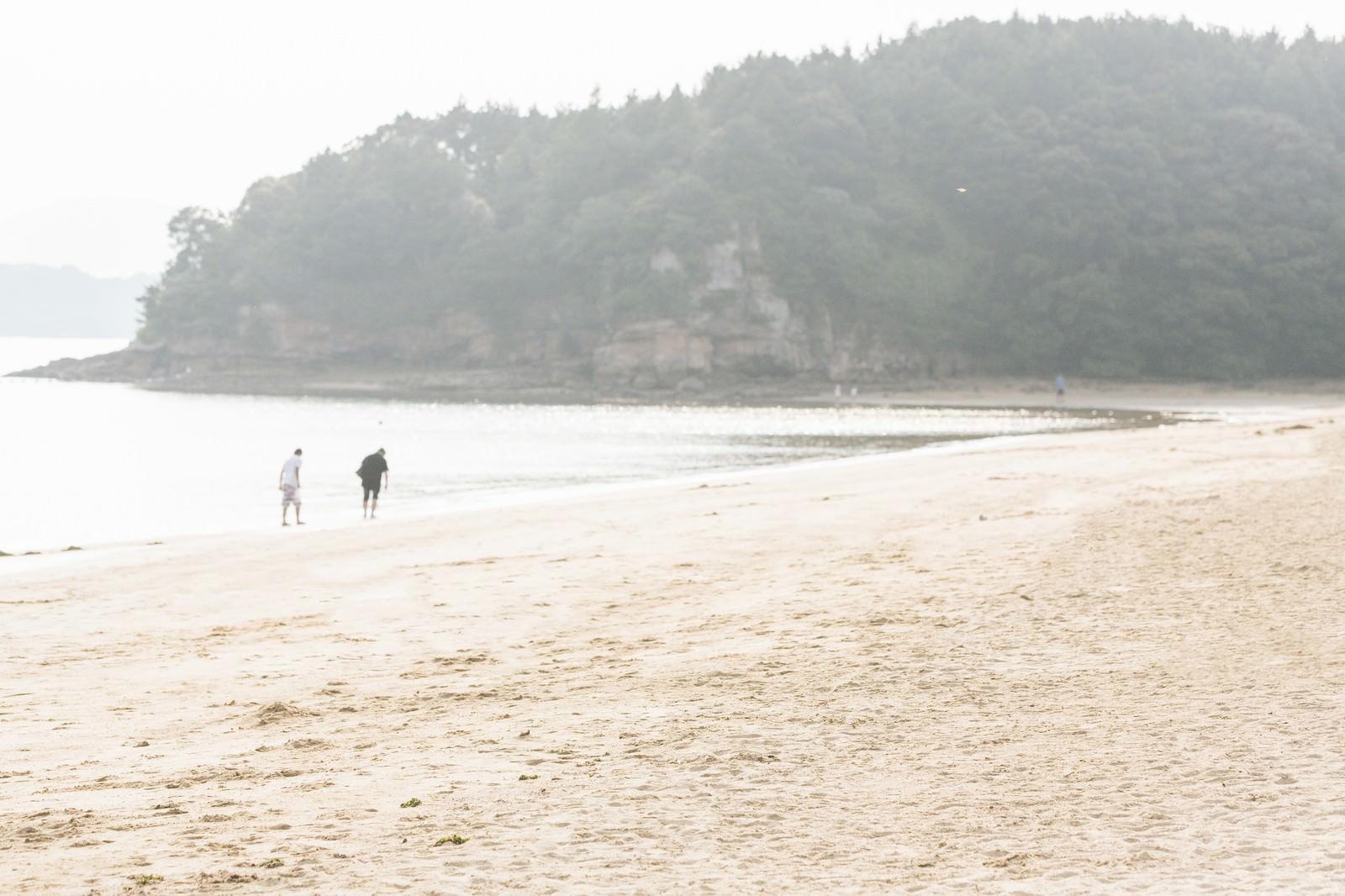 「夏のイマリンビーチの砂浜夏のイマリンビーチの砂浜」のフリー写真素材を拡大