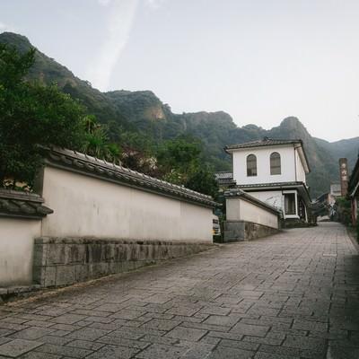 「秘境の地、大川内山(佐賀県伊万里市)」の写真素材