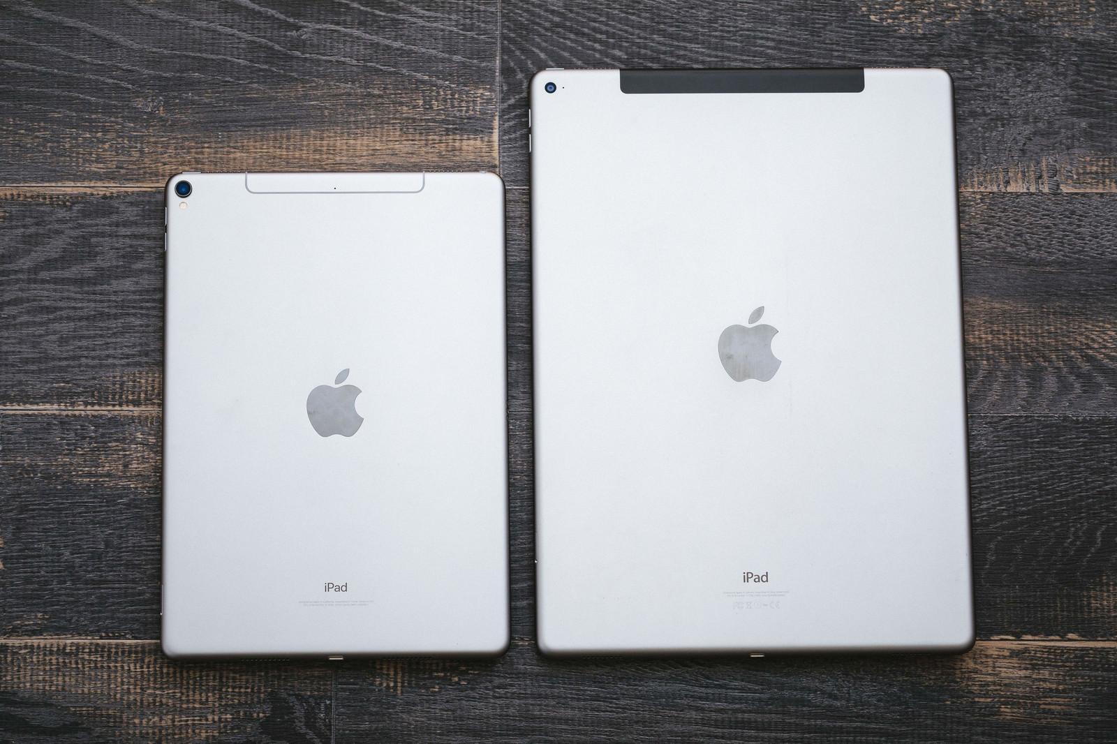 「サイズが異なるタブレット端末」の写真