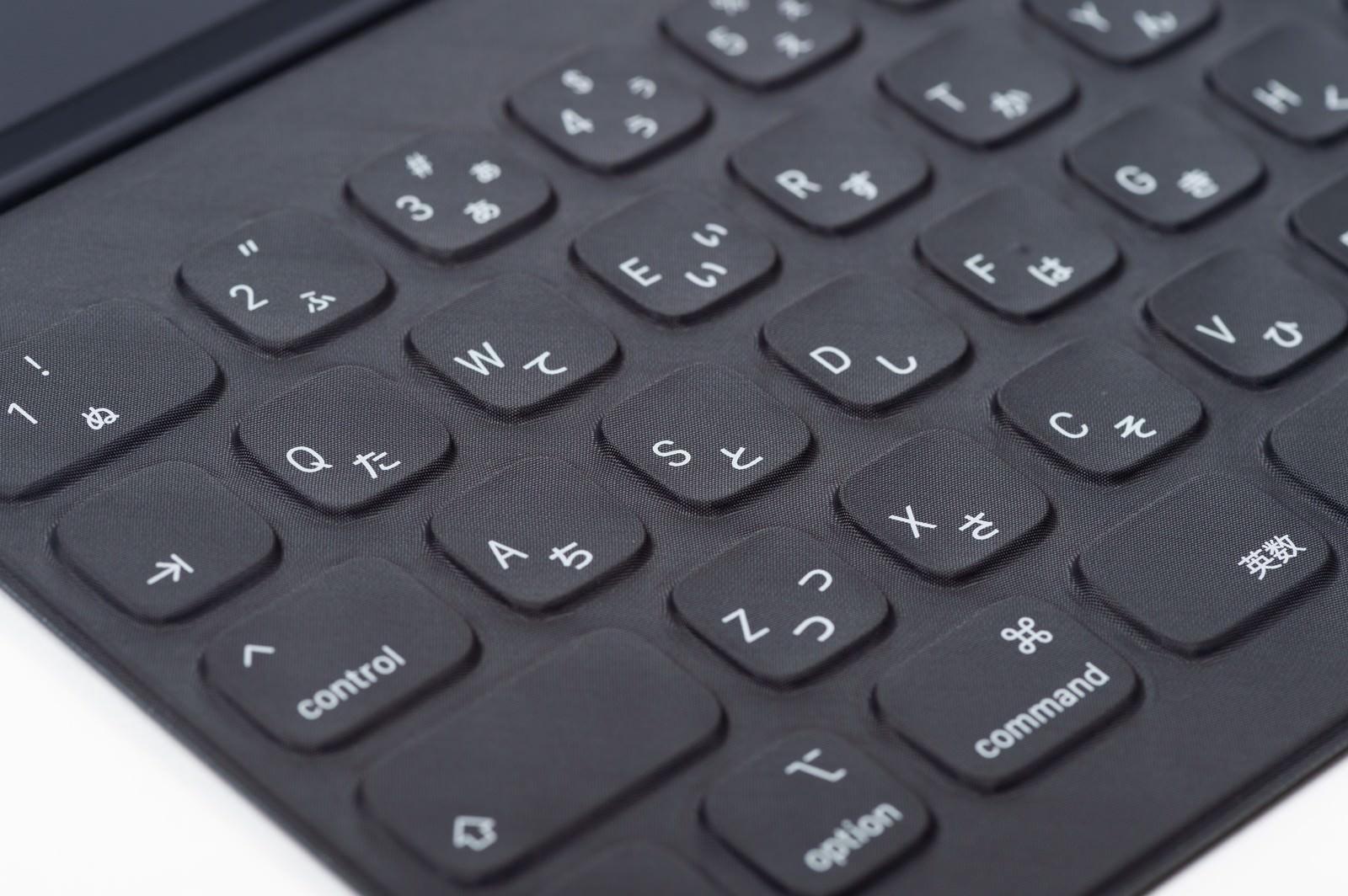 「スマートキーボード(iPad Pro用)」の写真