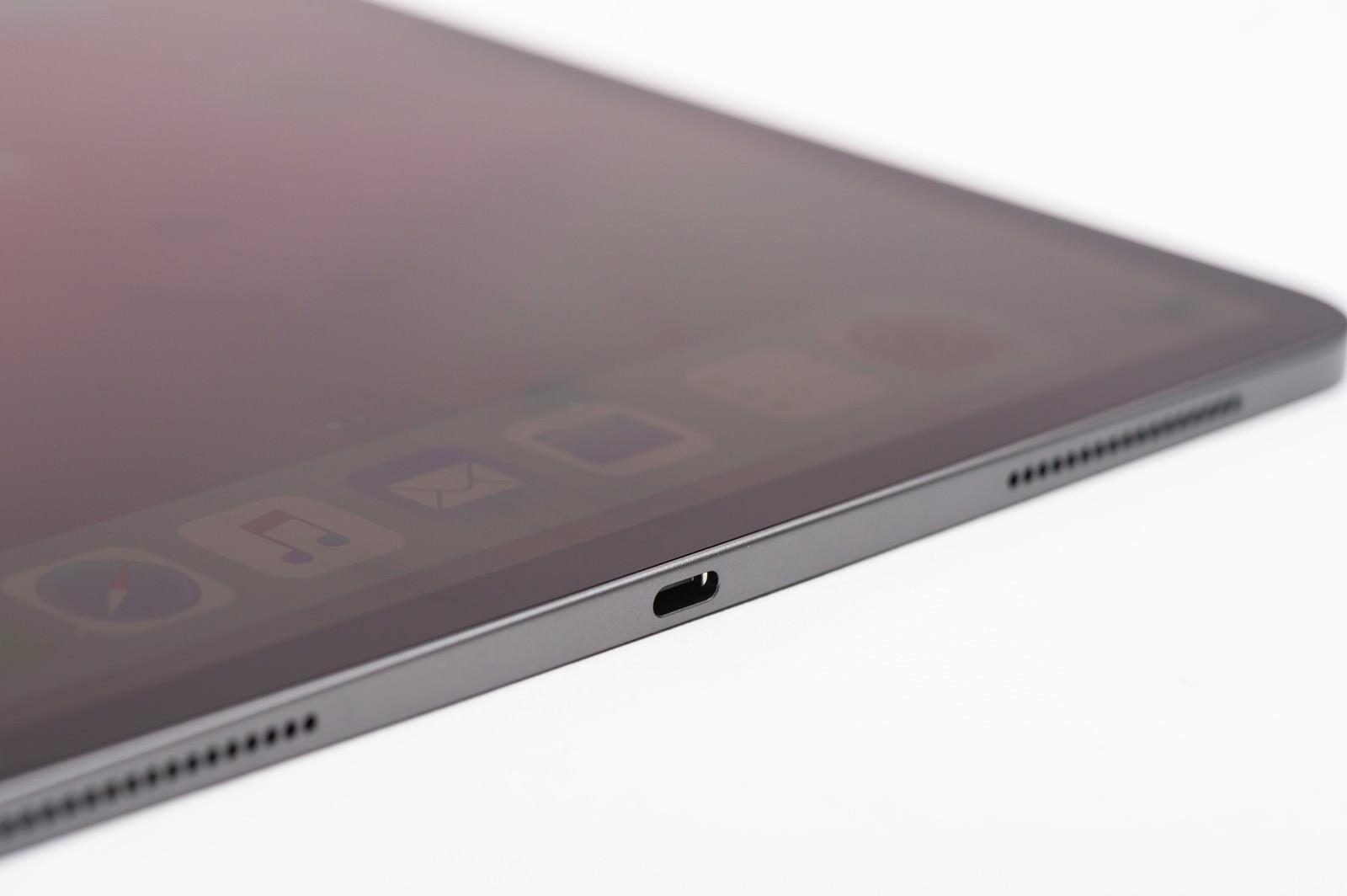 「iPad Pro 電源部分」の写真