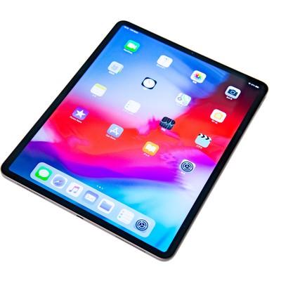 iPad Pro 2018のホーム画面に並ぶアイコンの写真