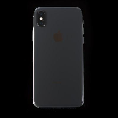 「iPhone X ブラック」の写真素材