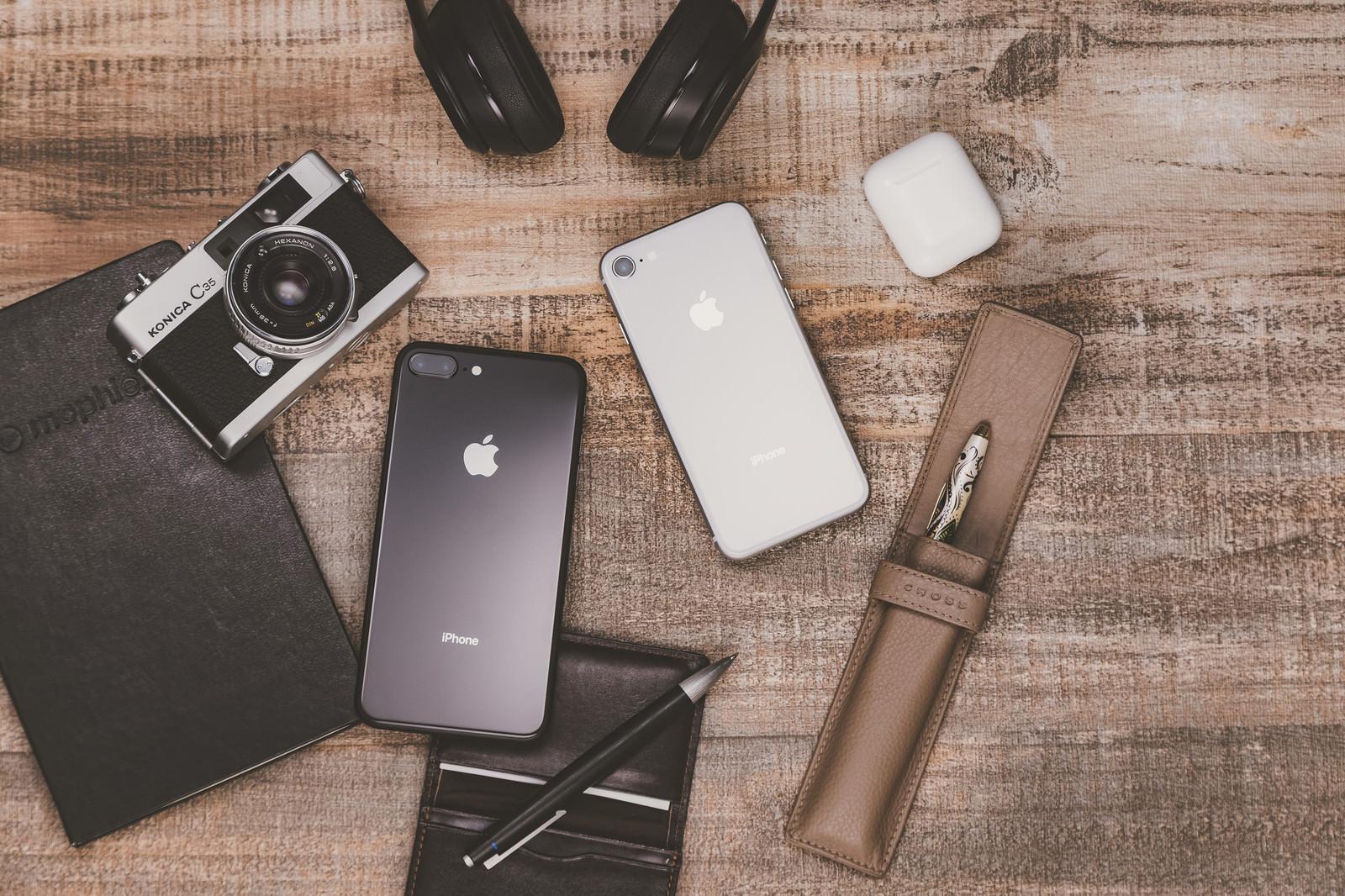 「ブロガーの持ち物(iPhoneやカメラなど)」の写真