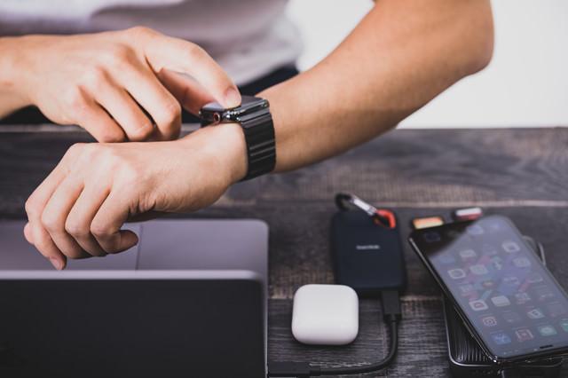 Apple Watch で1日のアクティビティを確認するの写真