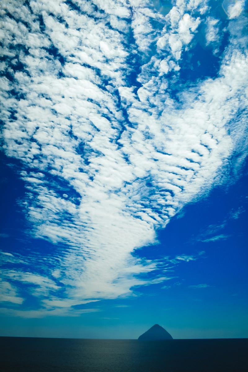 「青空の羊雲」の写真