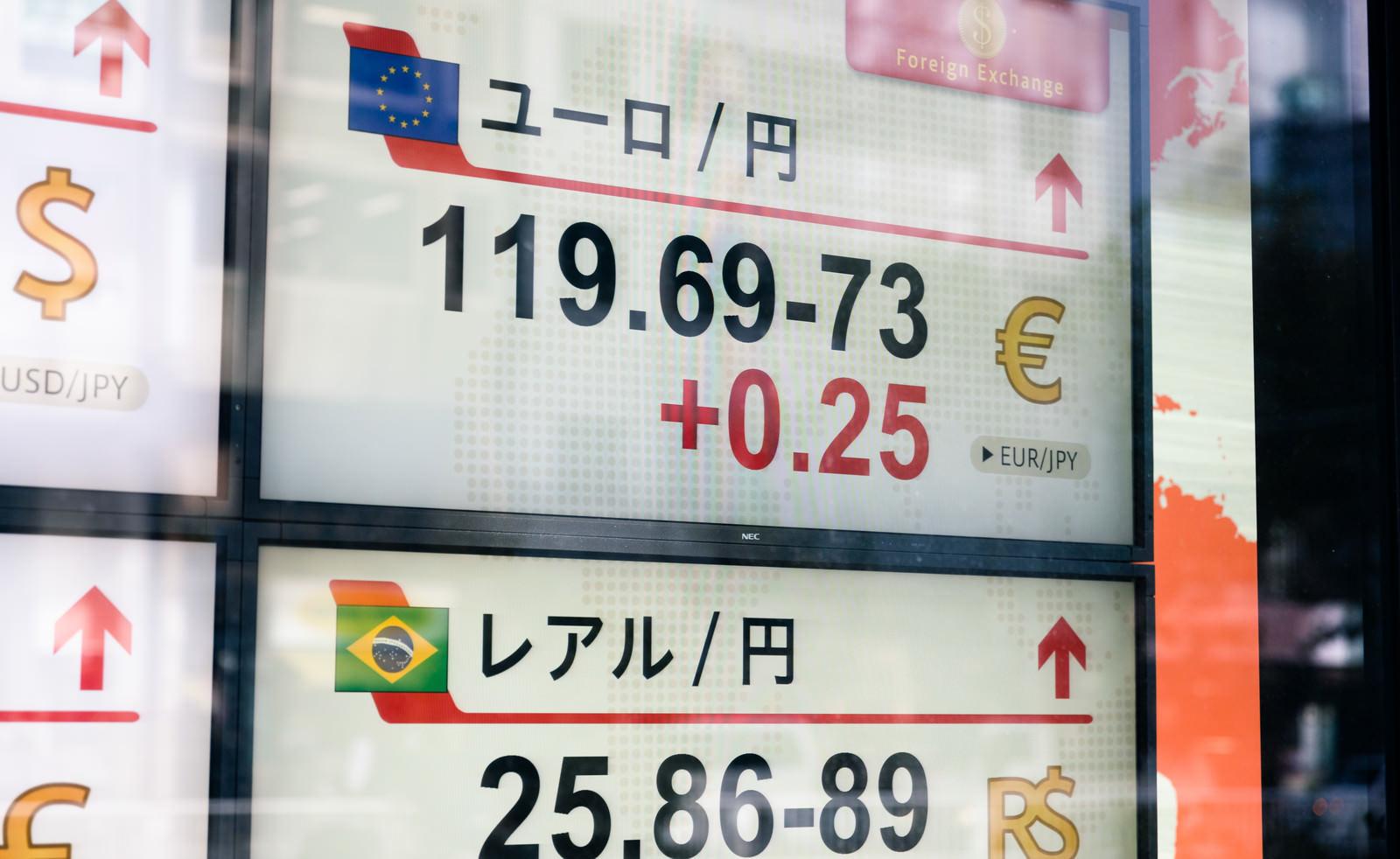 「ユーロ/円(為替)」の写真