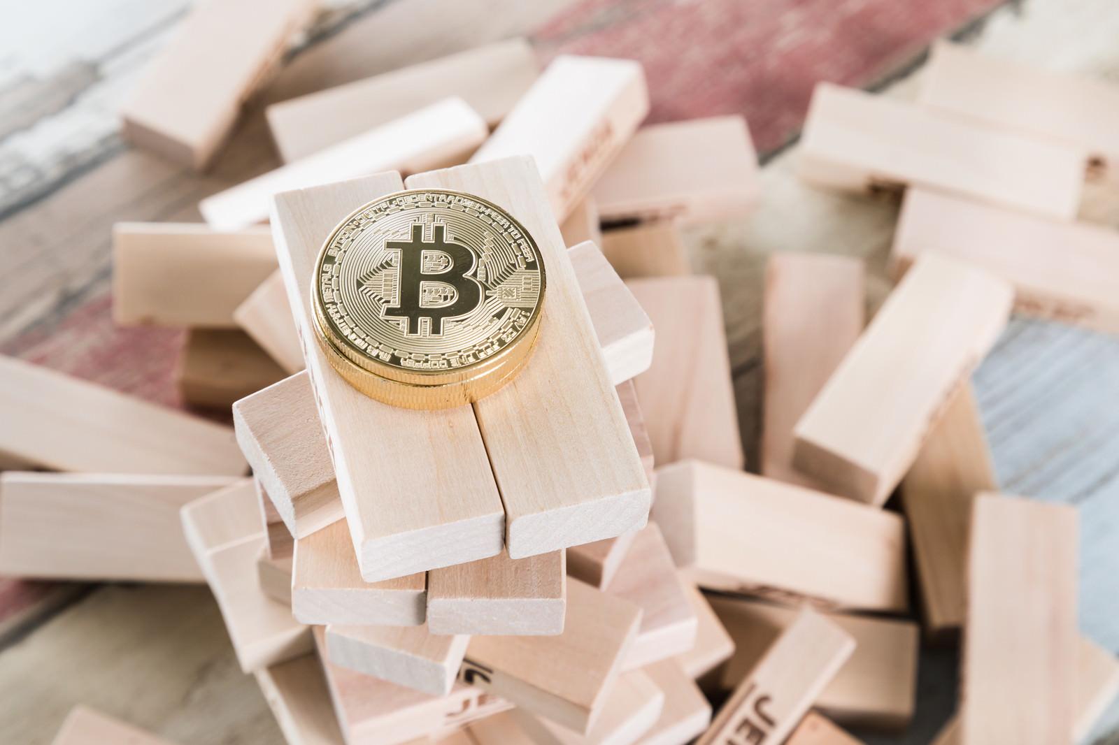 「不安定なビットコイン」の写真