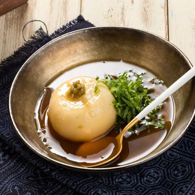 「かぶのまるごとあんかけスープ」の写真素材
