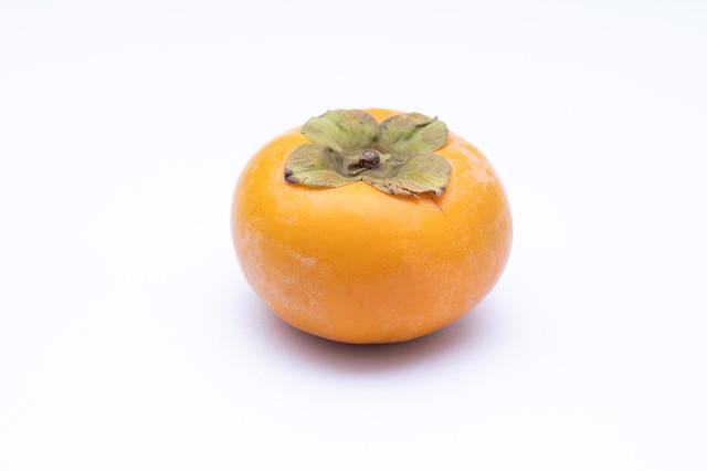 秋の味覚「柿」の写真