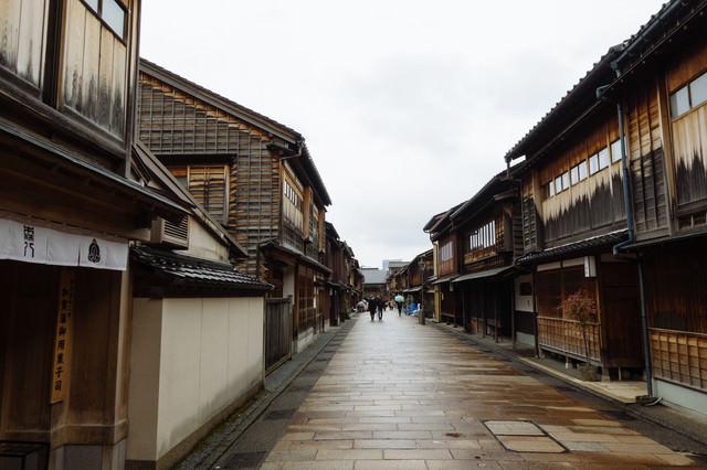 金沢「ひがし茶屋街」の写真