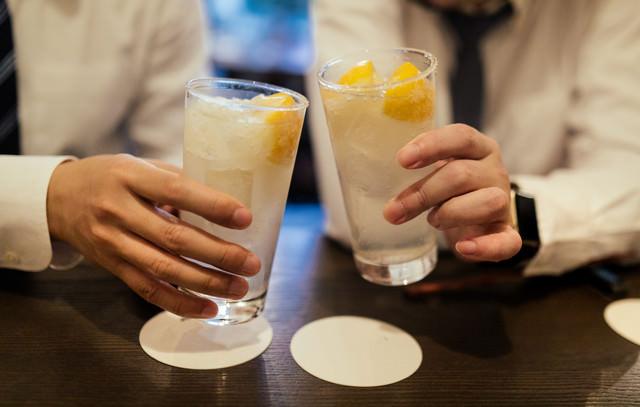 乾杯しましょう!の写真