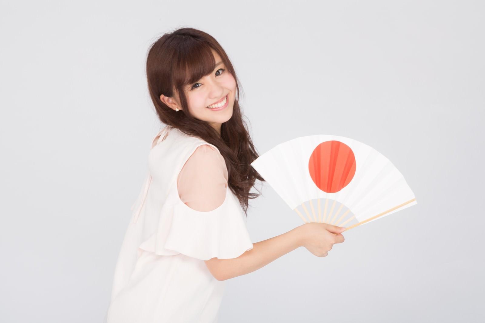 「日本一の笑顔」の写真[モデル:河村友歌]