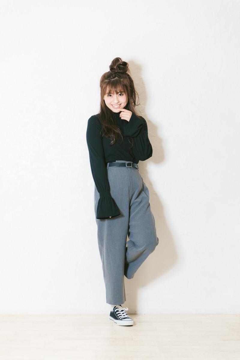 「トータルコーディネート1万円女子」の写真[モデル:河村友歌]