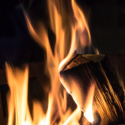 「篝火」の写真素材