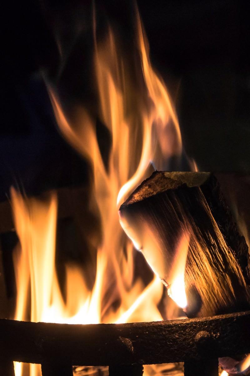「篝火」の写真