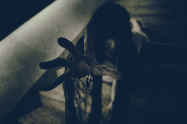 抜け毛の怨霊の写真