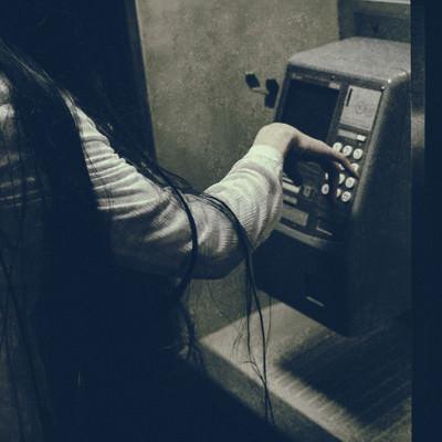 非通知の電話先の写真