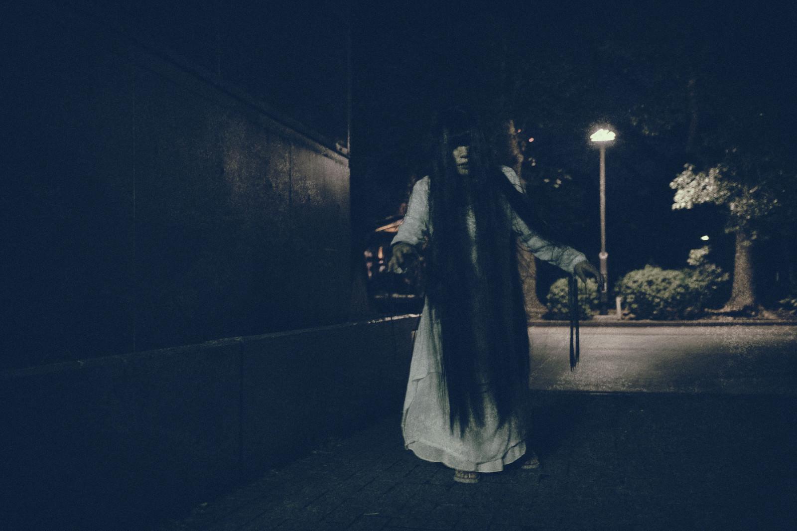 「公園を彷徨う女性」の写真[モデル:緋真煉]